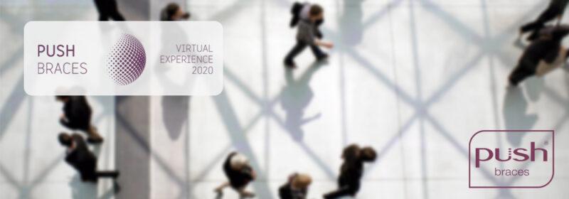 Push Braces Virtual Experience uitnodiging